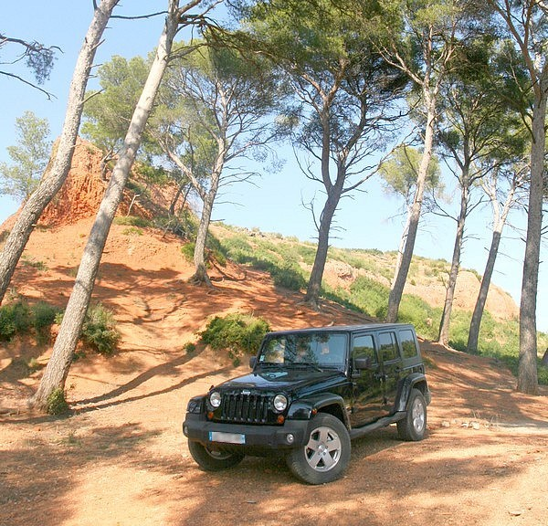 Jeep Wrangler CRD Unlimited Sahara