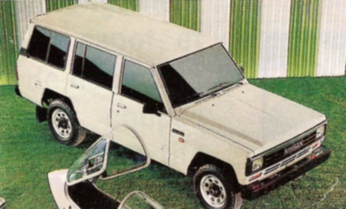Nissan Patrol 3300 Long