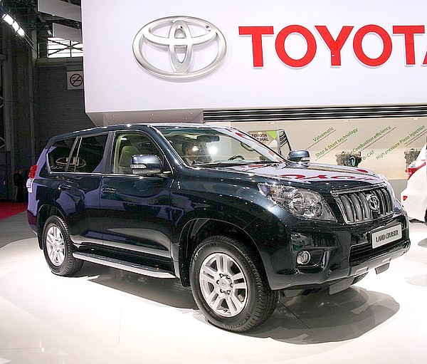 Toyota Land Cruiser KDJ150